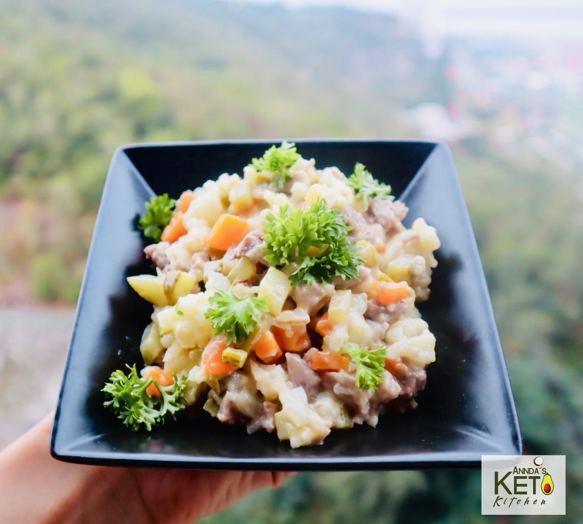 Salată Boeuf Keto